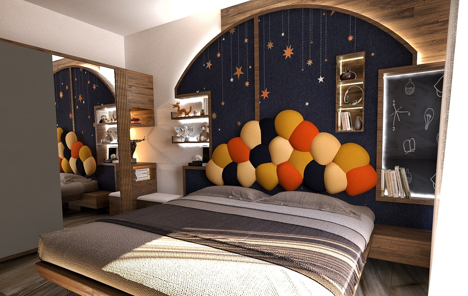 Nitin-Kids-Bedroom-Interior