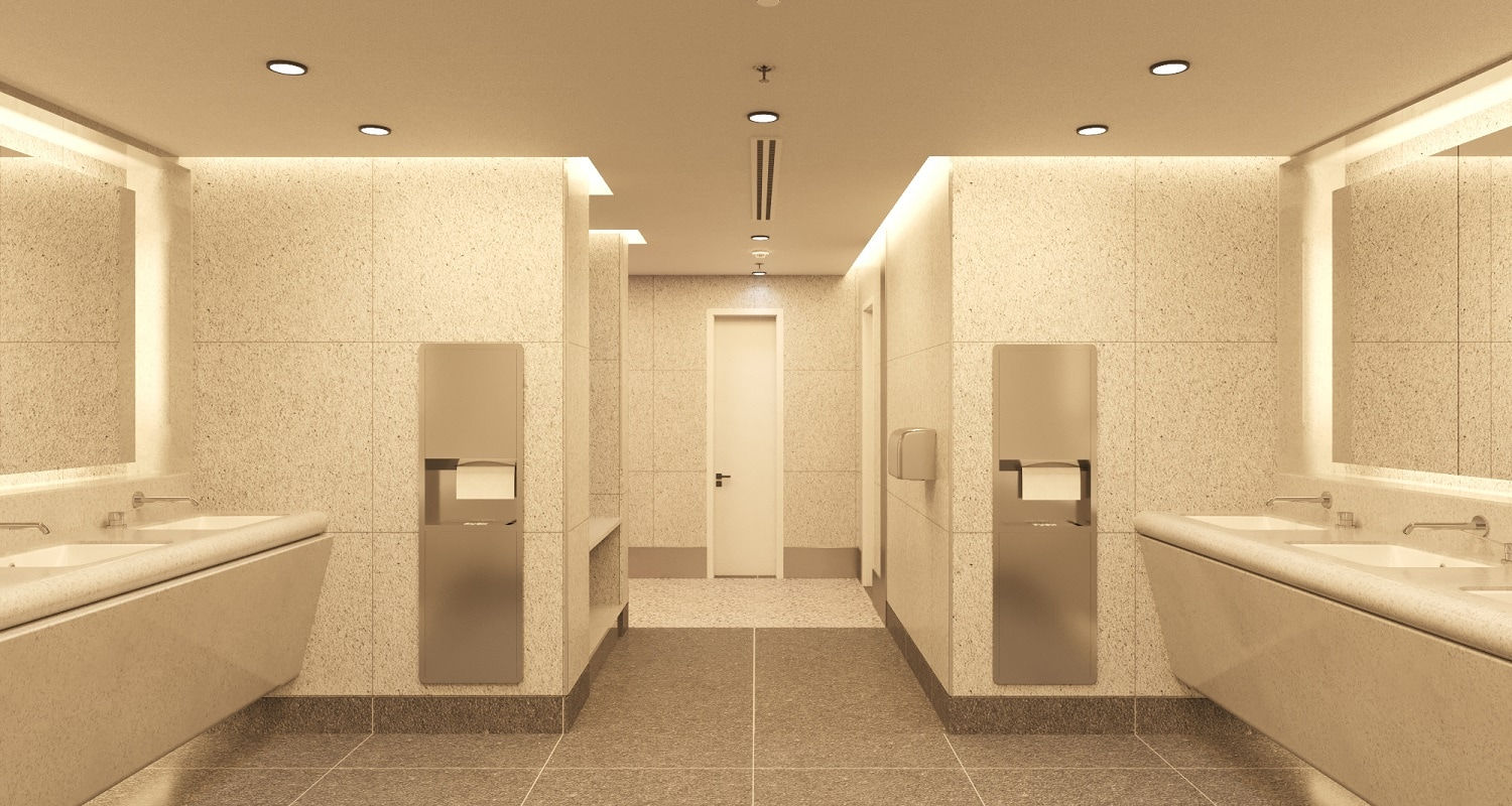 Ahmedabad Airport - Wash area view 3 - India